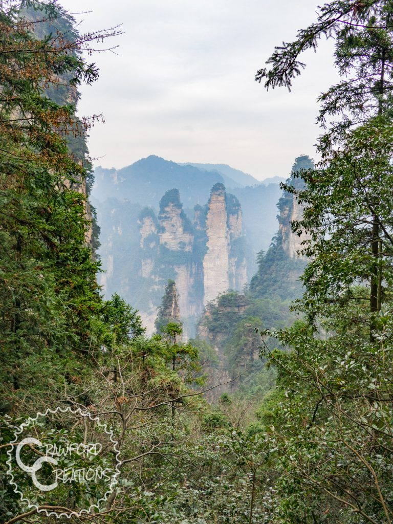 huangshizhai-mountain