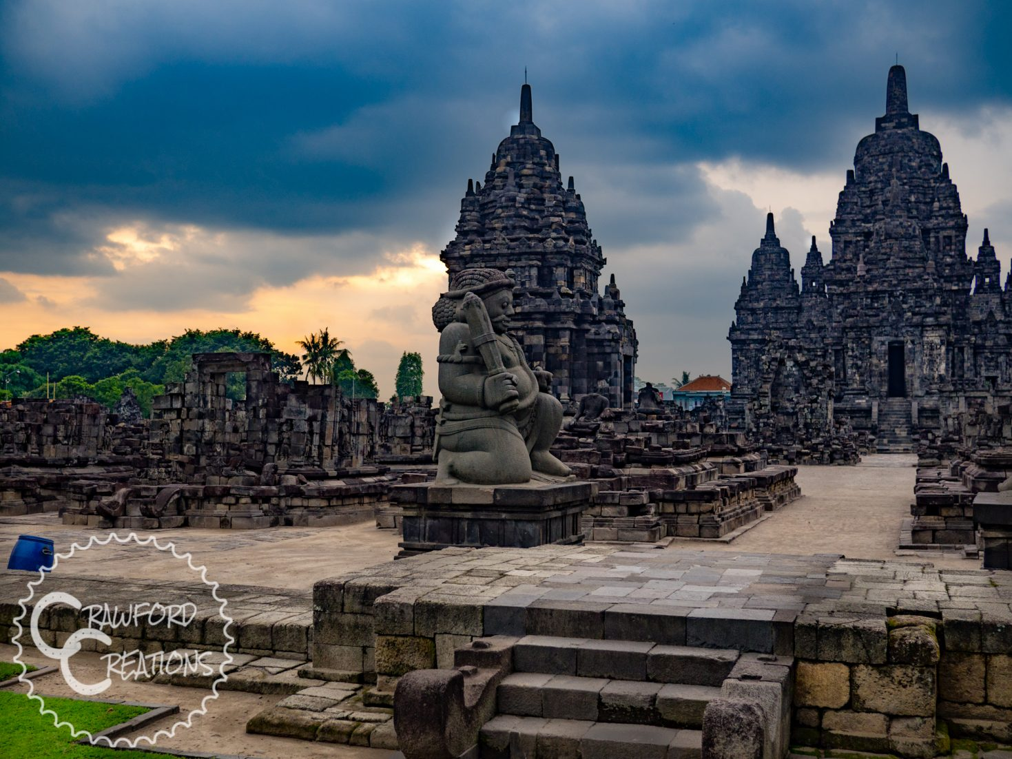 sewu-temple-sunset