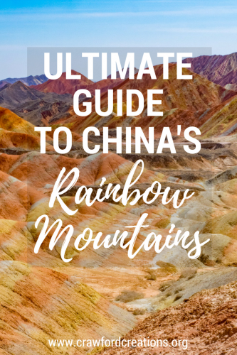 Rainbow Mountains | China | Zhangye Danxia | Geological Park | Travel