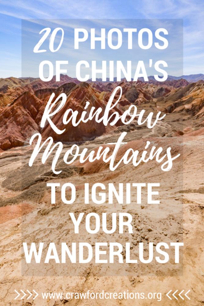 Rainbow Mountains | China | Zhangye Danxia | Travel Photography