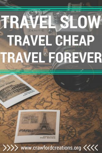Slow Travel   Budget Travel   Long Term Travel   Travel Tips
