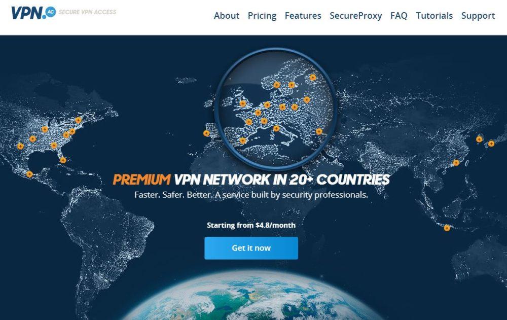 vpnac-homepage