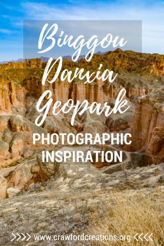Binggou Danxia | China Travel | Travel Photography | Hiking | Gansu