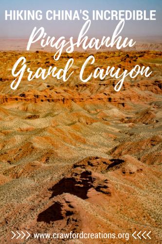 Pingshanhu | Pingshanhu Grand Canyon | Grand Canyon | Grand Canyon China | China Travel | Hiking