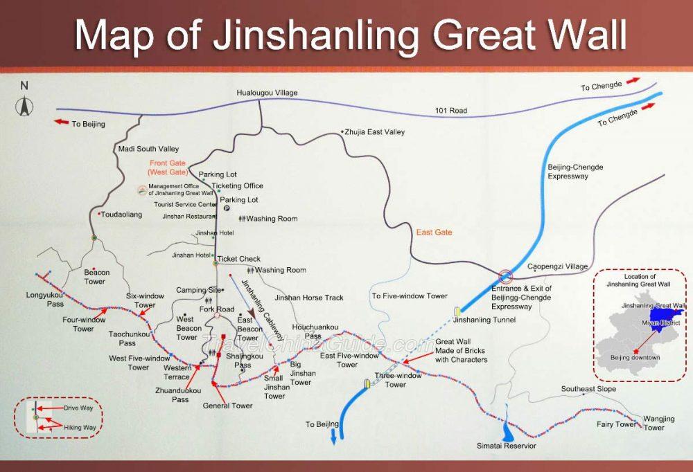 jinshanling-map